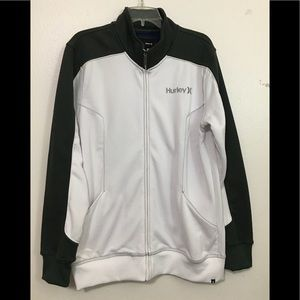 Hurley Nike Therma-Fit Full Zip white Green Size L